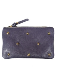 MERCULES Star Pouch Wallet - Blue Jean