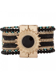 HIPANEMA Eternity Bracelet - Black