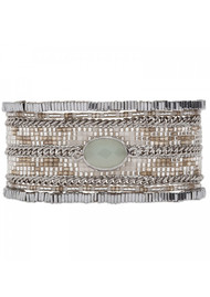 HIPANEMA Eternity Bracelet - Silver