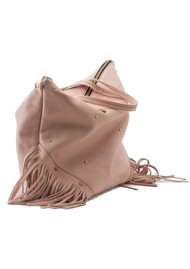 MERCULES Carpenter Fringe Bag - Pink