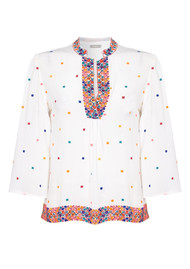 PK BERRY Chloe Blouse - Cream
