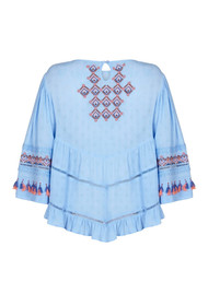 PK BERRY Alice Blouse - Blue