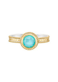 ANNA BECK Abundance Single Stone Ring - Gold
