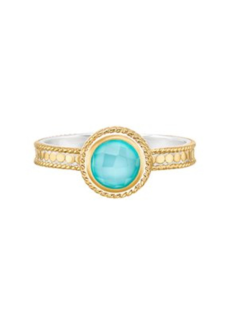 ANNA BECK Abundance Single Stone Ring - Gold main image
