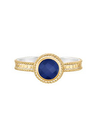 ANNA BECK Wisdom Blue Lapis Single Stone Ring - Gold