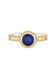 ANNA BECK Wisdom Blue Lapis Single Stone Ring - Gold