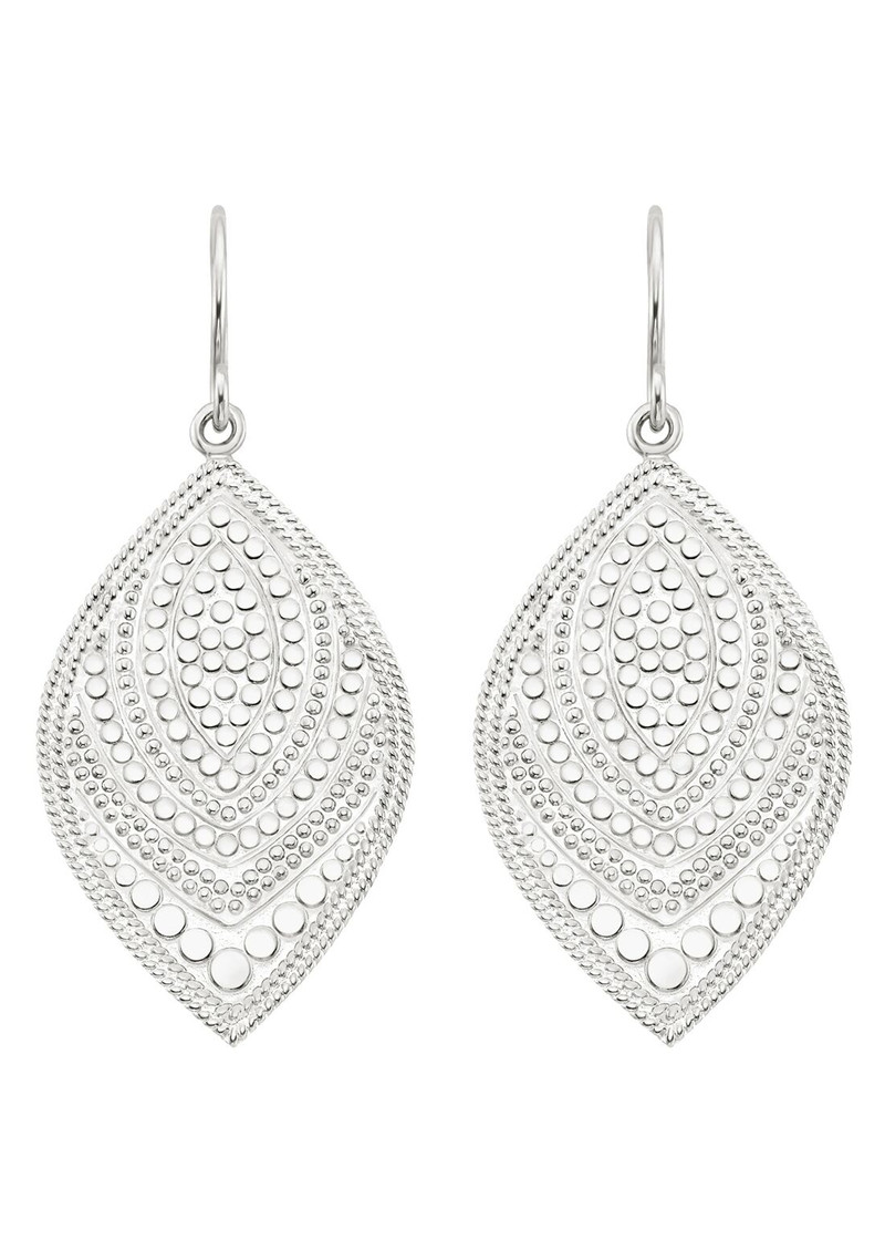 ANNA BECK Marquise Drop Earrings - Silver main image