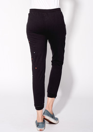 SUNDRY Embroidered Jogger Pant - Black