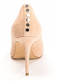 KENDALL & KYLIE Brianna Suede Heels - Apricot Peach