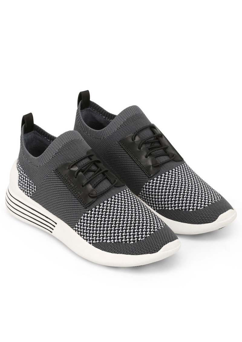KENDALL & KYLIE Brandy Trainers - Black, White & Grey main image