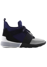 KENDALL & KYLIE Braydin 8 Trainers - White & Midnight Blue