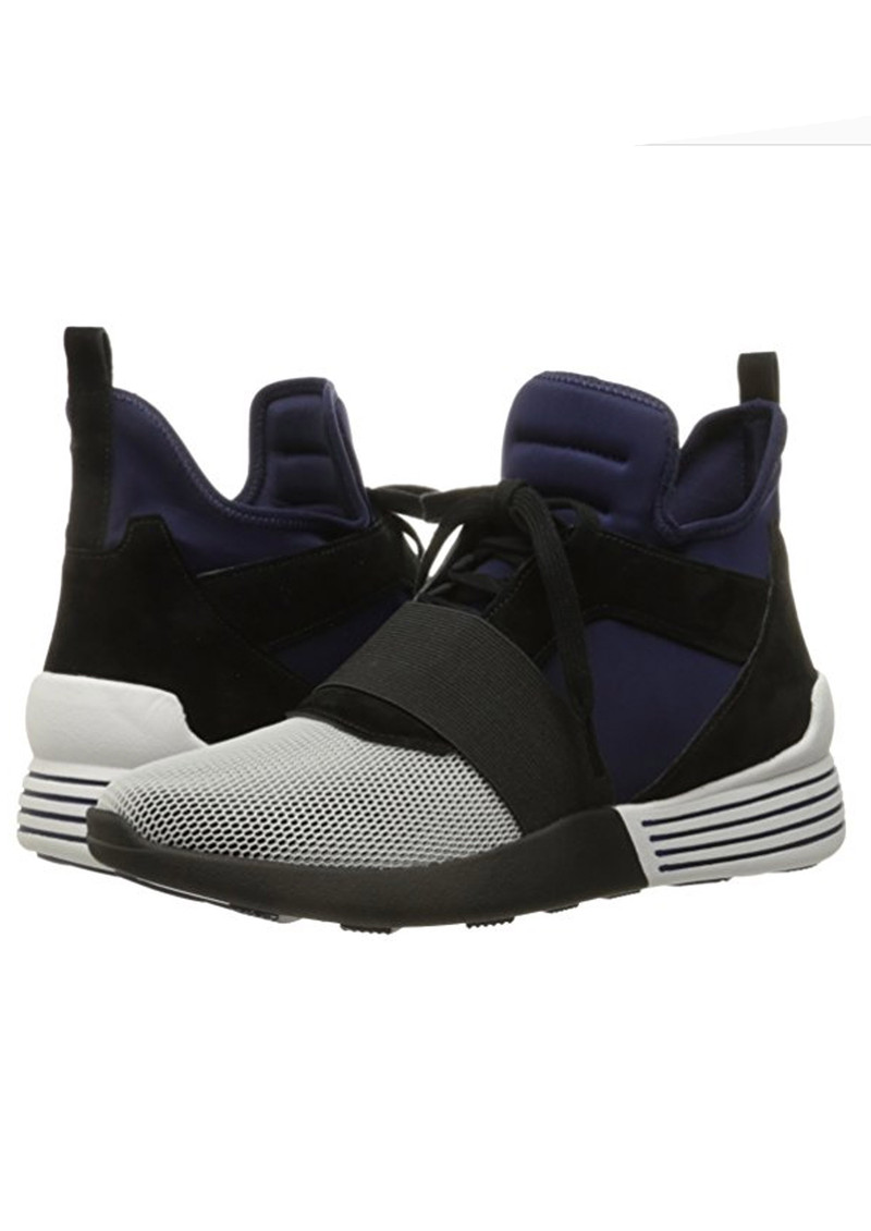 KENDALL & KYLIE Braydin 8 Trainers - White & Midnight Blue main image