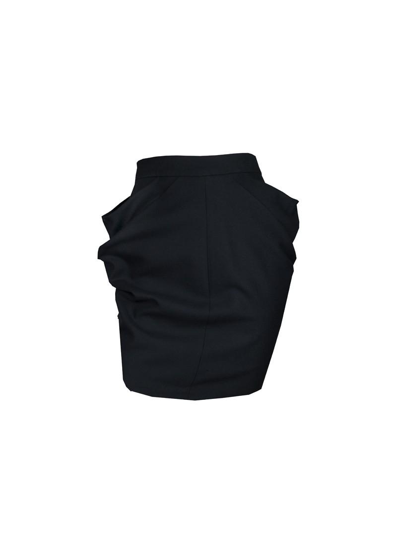 Sylvia Rielle Ji-Plimag Jupe Skirt - Black main image