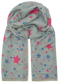 UNIVERSE OF US Stella Star Scarf - Grey