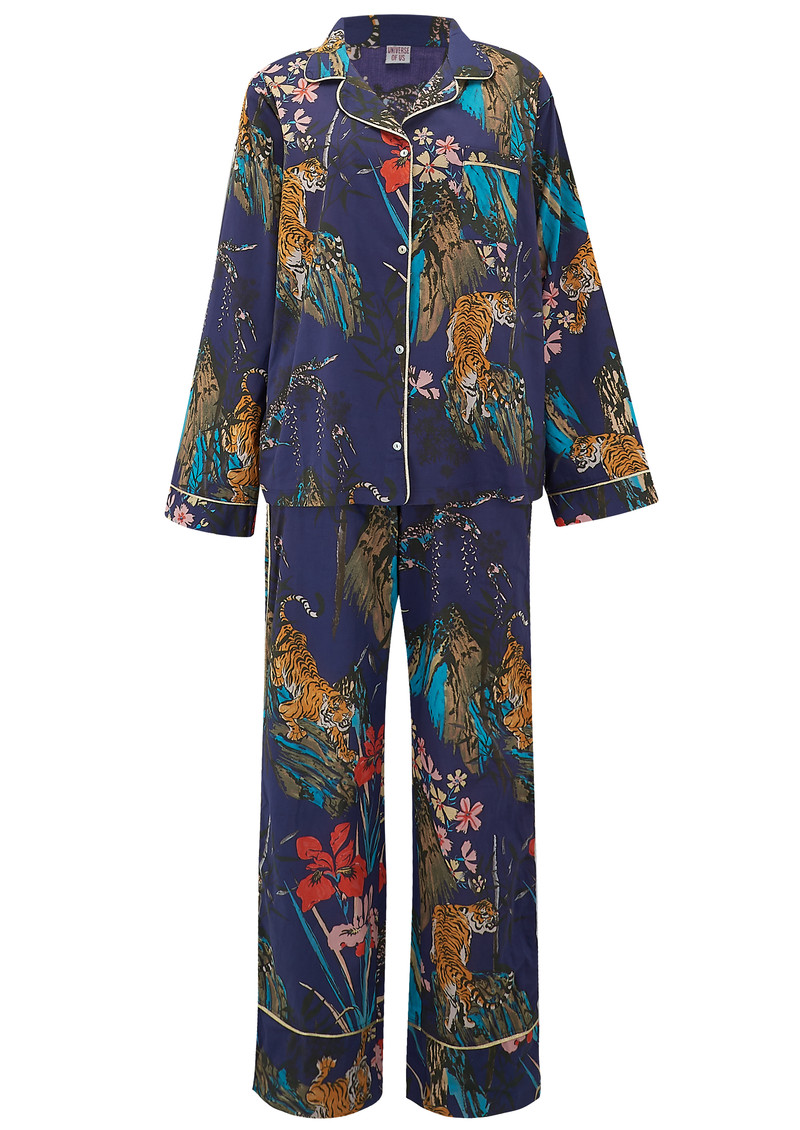 UNIVERSE OF US Into the Wild Pyjama Set - Multi main image