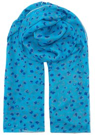 UNIVERSE OF US Leopard Love Scarf - Blue