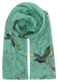 UNIVERSE OF US Sky Garden Scarf - Turquoise
