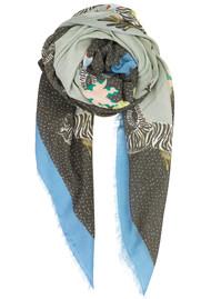 Becksondergaard Zenobia Cotton Scarf - Lichen Blue