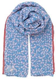 Becksondergaard Flourish Cotton Scarf - Lichen Blue