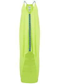 PITUSA Evil Eye High Low Dress - Lemon