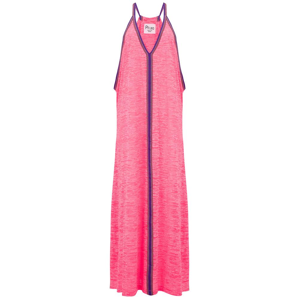 Inca Sun Dress - Hot Pink