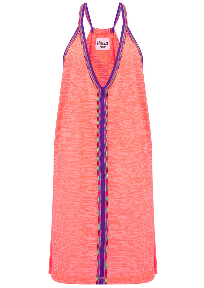 PITUSA Mini Sun Dress - Coral main image