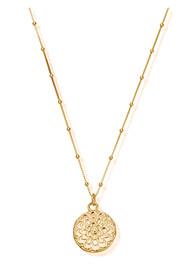 ChloBo Cherabella Moon Flower Necklace - Gold