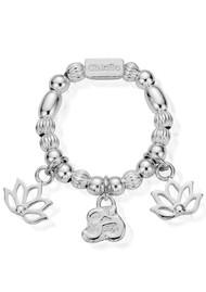 ChloBo Cherabella Zen Ring - Silver