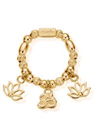 ChloBo Cherabella Zen Ring - Gold