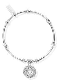 ChloBo Cherabella Solar Plexus Chakra Bracelet - Silver