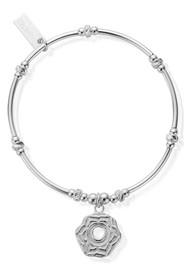 ChloBo Cherabella Sacral Chakra Bracelet - Silver
