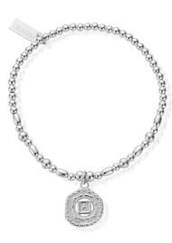 ChloBo ChloBo Cherabella Root Chakra Bracelet - Silver