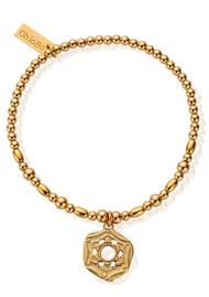 ChloBo Cherabella Crown Chakra Bracelet - Gold