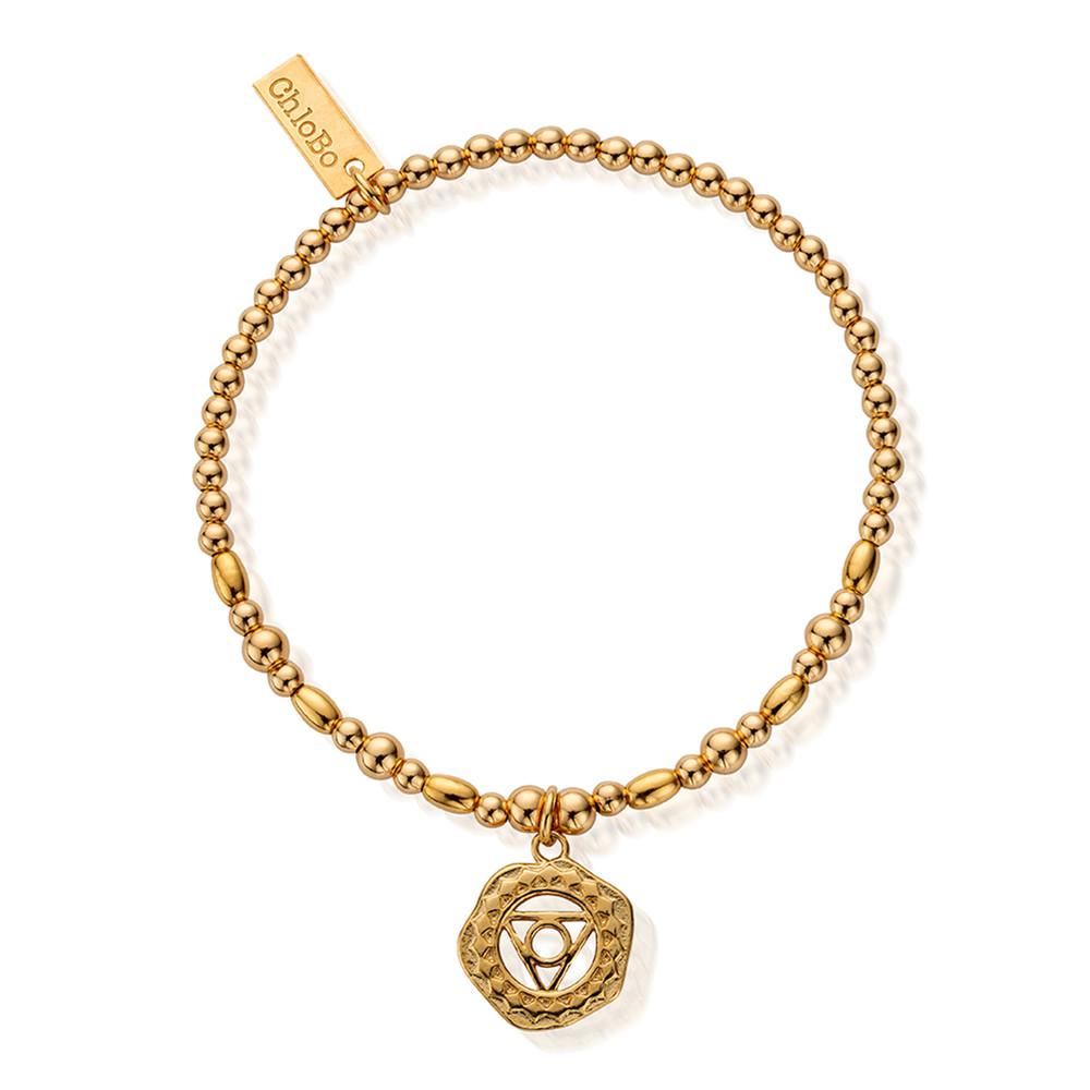 Cherabella Throat Chakra Bracelet - Gold