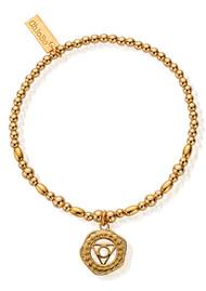 ChloBo Cherabella Throat Chakra Bracelet - Gold