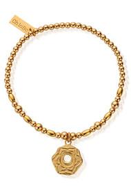 ChloBo Cherabella Sacral Chakra Bracelet - Gold