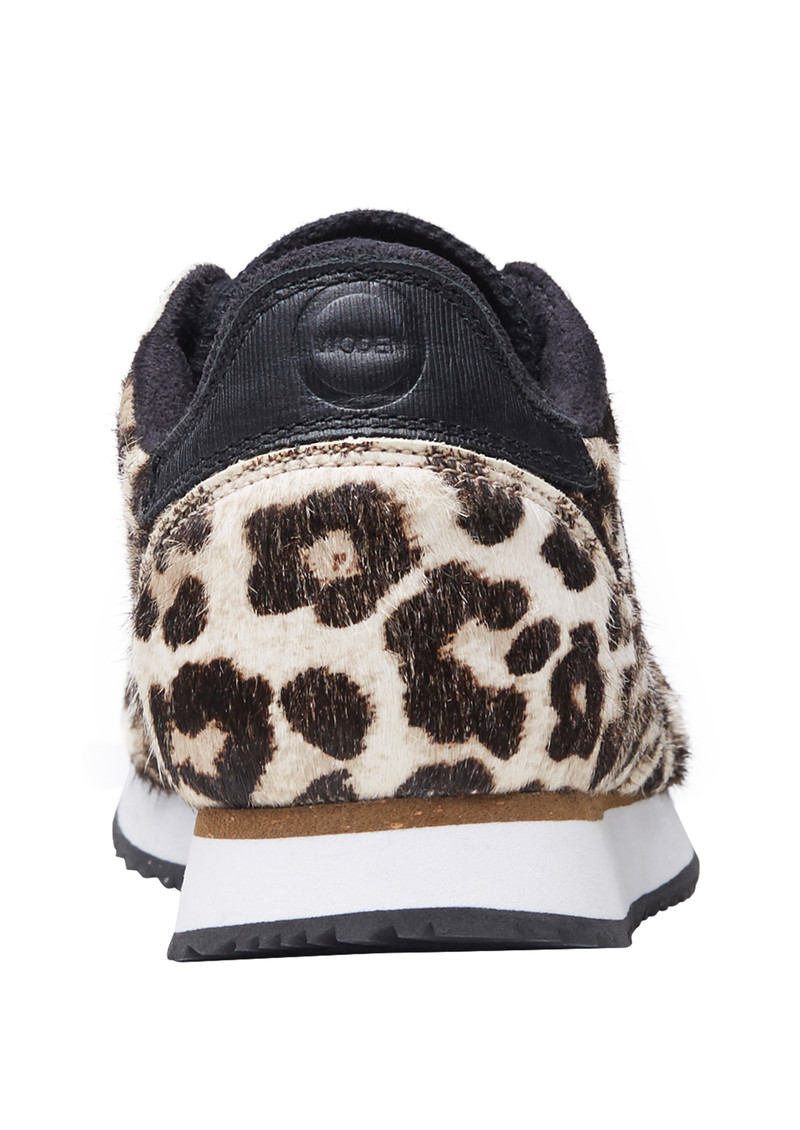WODEN Ydun II Pony Trainers - White Leopard main image