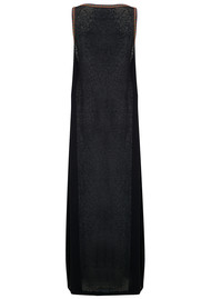 PITUSA Tassel Slit Dress - Black