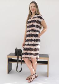 NOOKI Purla Printed Shirt Dress - Hacienda