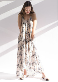 NOOKI Toucan Print Maxi Dress - Multi