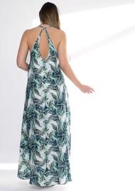 NOOKI Nissi Palm Print Dress - Green