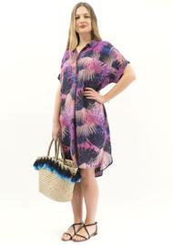 NOOKI Beatrice Pink Palm Dress - Pink