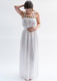 NOOKI Garnet Maxi Dress - Ecru