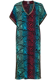 UNIVERSE OF US Stella Printed Kaftan - Dancing Zebra