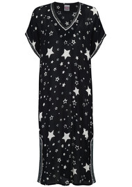 UNIVERSE OF US Stella Printed Kaftan - Black