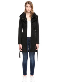 SOIA & KYO Arabella coat - Black