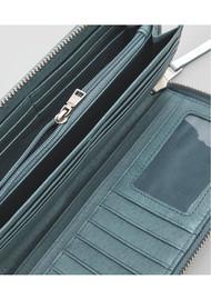Liebeskind Gigi F8 Metallic Purse - Silver & Blue Lagoon