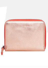 Liebeskind Conny F8 Purse - Rose Gold & Hibiscus