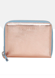 Liebeskind Conny F8 Purse - Rose Gold & Pacific Blue