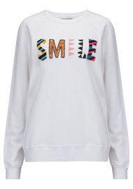 UZMA BOZAI Smile Sweater - White